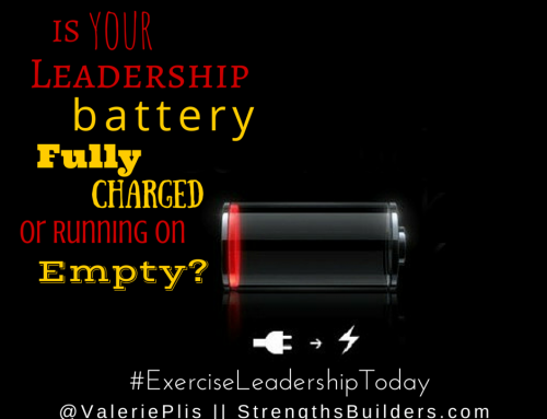 Is Your Leadership Battery Fully Charged or Running on Empty?